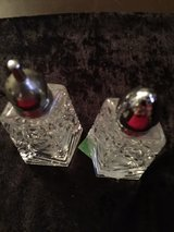 glass salt and pepper shakers in Fort Campbell, Kentucky