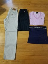 lot of 9pc.ralph lauren and 4 tommy hilfiger shirts-size m in Wilmington, North Carolina