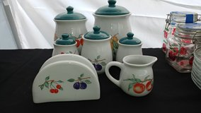 7pc Dulcie kitchen canister set in Fort Campbell, Kentucky