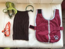 Puppy or small dog clothes and harness in Tacoma, Washington