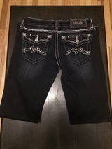 Women's Miss Me Black & White Skinny Jeans 27 x 33 JE1049S2L Buckle Exclusive in Fort Campbell, Kentucky
