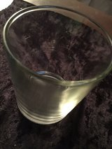 Round candle holder in Fort Campbell, Kentucky