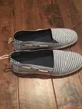 Canvas Navy Nautica Slip On Shoes, NEW in Fort Campbell, Kentucky