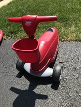 Radio Flyer 2 in 1 scooter/ride along in Plainfield, Illinois