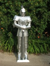 Knight In shining Armor Full Size Replica Medieval Gothic Dragon Slayer in Plainfield, Illinois