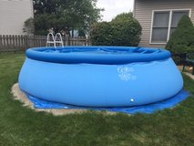 Intex Easy Up Pool in St. Charles, Illinois