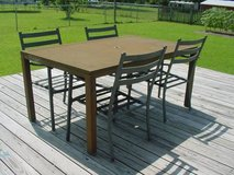Patio Table & 4 Chairs in Camp Lejeune, North Carolina