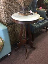 Marble Top Side Table in Camp Lejeune, North Carolina