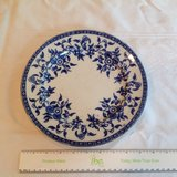 Flow Blue Wedgewood plate in Naperville, Illinois