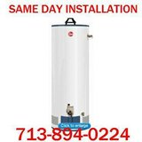 $399 WATER HEATER and INSTALL in Houston, Texas