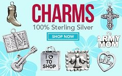 Beautiful silver charms.  Visit:     www.mia.labellabaskets.com    just copy and paste web address in Baytown, Texas