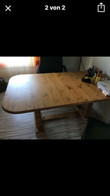Table with 6 chairs in Ramstein, Germany