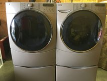 Kenmore Elite Washer and Dryer with pedestals in Lake of the Ozarks, Missouri