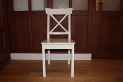 White Dining Chair in Ramstein, Germany