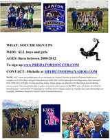 Looking for soccer players! in Lawton, Oklahoma