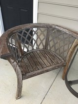 Round patio chairs in Summerville, South Carolina
