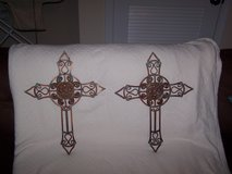 Pair of Crosses in Fort Campbell, Kentucky