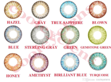 Fresh look color contact lens 11 colors available in Lawton, Oklahoma