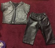 Leather biker baby outfit in Fort Riley, Kansas