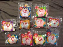 McDonald's 1996 complete Set of Beanie Baby's in Okinawa, Japan