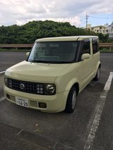 2002 Nissan Cube in Okinawa, Japan