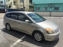 Honda Stream in Okinawa, Japan