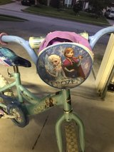 "Girls 12"" frozen bicycle in Kingwood, Texas"