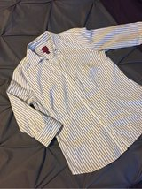 212 Collection XS Stretch Striped Button Up Shirt in Olympia, Washington