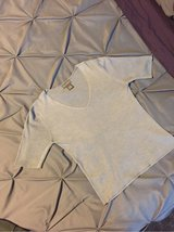 Banana Republic Silk Gray Top Small in Olympia, Washington