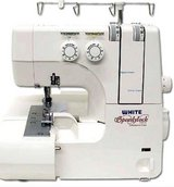 White Speedylock 1300DE Serger in Camp Lejeune, North Carolina