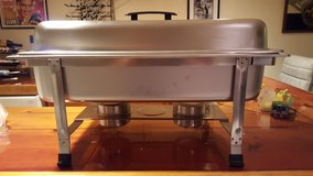 ADCRAFT ROCKWELL 8 QUART CHAFER  BUFFET SERVER in Glendale Heights, Illinois