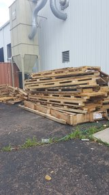 Pallet wood in Fort Carson, Colorado