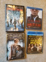 DVDs (Inception, Black Mass, Great Gatsby, American Hustle) in Quantico, Virginia