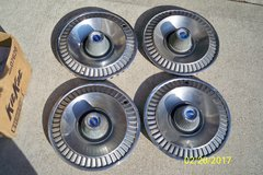 FOUR USED FORD FAIRLANE WHEEL COVERS in Lockport, Illinois