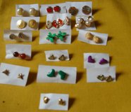 REDUCED Earrings Post Style 16 pairs in Clarksville, Tennessee