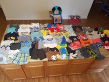 0-6 month baby boy clothing lot in Fort Drum, New York