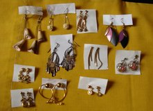 REDUCED Dangle Earrings 11 Pair in Clarksville, Tennessee