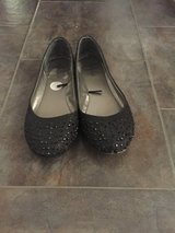 Black slip on shoes in Yucca Valley, California