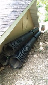 """New hdp culvert pipe 15"""" 60 ft total in Lake of the Ozarks, Missouri"""