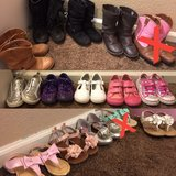 size 9 little girl shoes in Cleveland, Texas