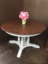 Antique Hand Refinished Oak Kitchen Table in Hopkinsville, Kentucky