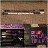 Belts and curling iron in Fort Drum, New York