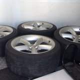 "18"" aluminum rims & tires! in MacDill AFB, FL"
