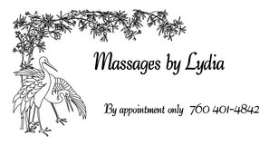 Massages by Lydia in 29 Palms, California