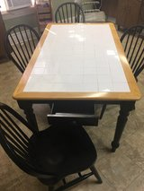 Tile Top Kitchen Table and Chairs in Columbus, Georgia