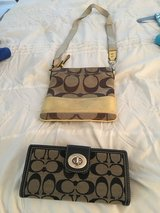 Coach purse & wallet 40. in Naperville, Illinois