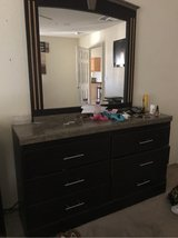 dresser with mirror in 29 Palms, California