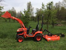 2009 Kubota BX2660 4X4 Tractor w/Loader and Mower in Little Rock, Arkansas