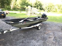 14' Jon Boat w/ 15hp Force Motor in Fort Drum, New York