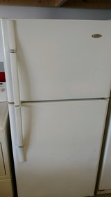 White Refrigerator in Cherry Point, North Carolina
